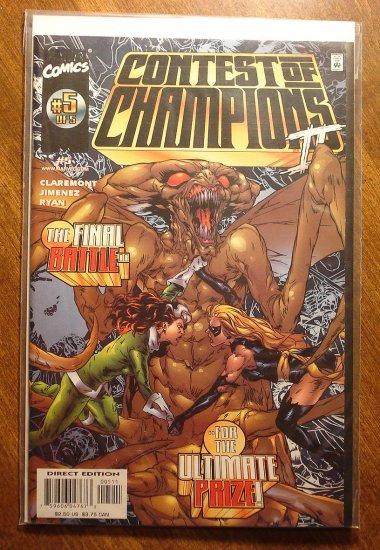 Contest of Champions #5 (1999) comic book - Marvel comics