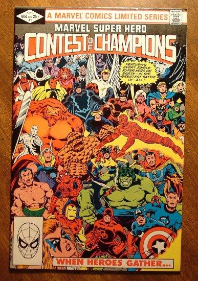 Contest of Champions #1 (1982) comic book VF - Marvel comics