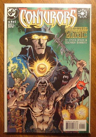 Conjurors #1 comic book - DC Comics