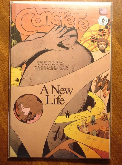 Concrete: A New Life comic book - Dark Horse Comics