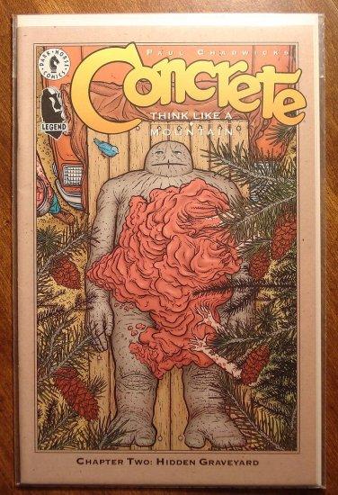 Concrete: Think Like a Mountain #2 comic book - Dark Horse Comics