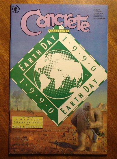 Concrete Celebrates Earth Day 1990 #1 comic book - Dark Horse Comics