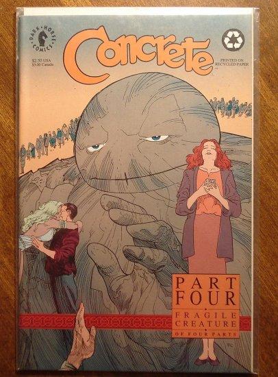 Concrete: Fragile Creature #4 comic book - Dark Horse Comics