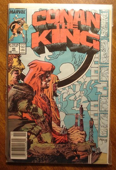Conan The King #49 comic book - Marvel comics