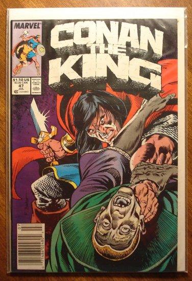 Conan The King #47 comic book - Marvel comics