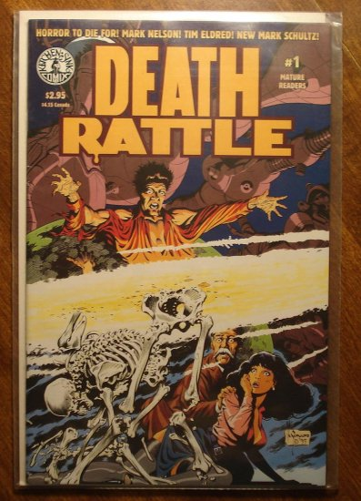 Death Rattle #1 comic book - Kitchen Sink comics (Comix)
