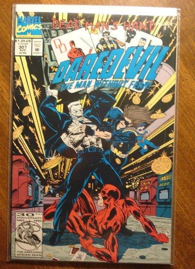 Daredevil #307 comic book - Marvel Comics
