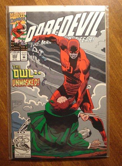 Daredevil #302 comic book - Marvel Comics