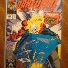 Daredevil #295 comic book - Marvel Comics w/ Ghost Rider!