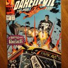 Daredevil #292 comic book - Marvel Comics - vs Punisher!