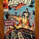 Daredevil #292 comic book - Marvel Comics - vs Punisher!