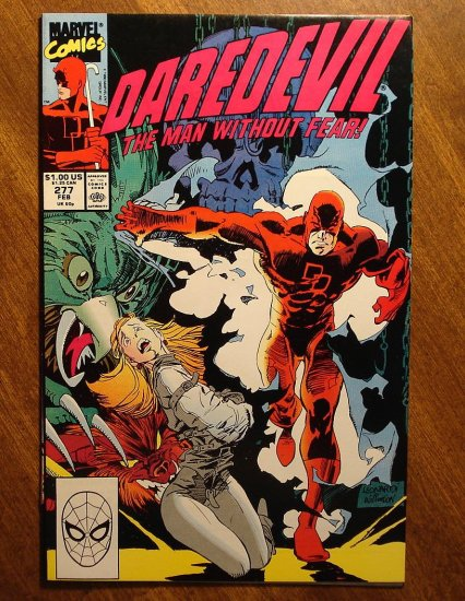 Daredevil #277 comic book - Marvel Comics