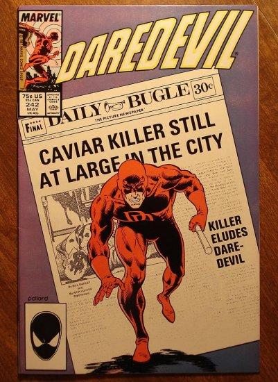 Daredevil #242 comic book - Marvel Comics