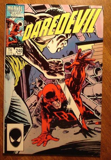 Daredevil #240 comic book - Marvel Comics