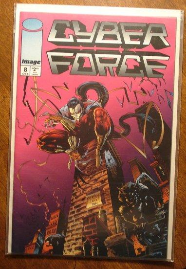 CyberForce #8 comic book - Image comics, cyber force