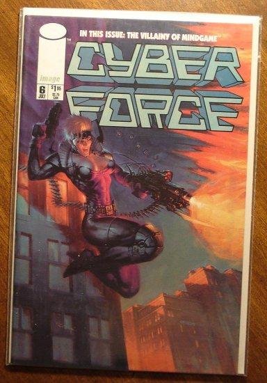 CyberForce #6 comic book - Image comics, cyber force