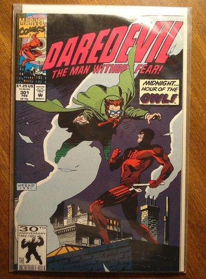 Daredevil #301 comic book - Marvel Comics
