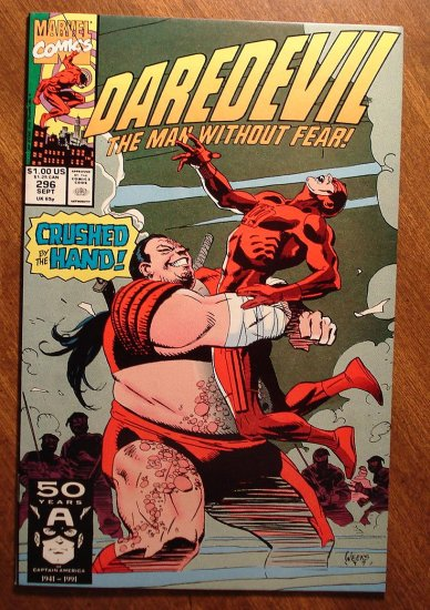Daredevil #296 comic book - Marvel Comics