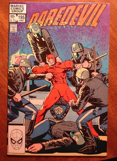 Daredevil #195 comic book - Marvel Comics