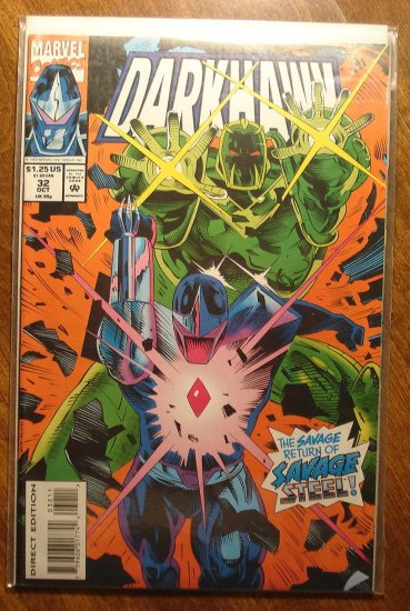 Darkhawk #32 comic book - Marvel Comics
