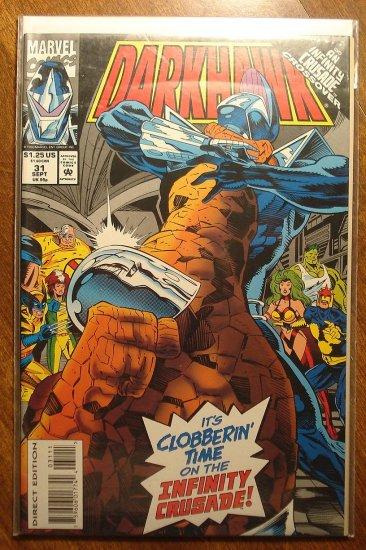 Darkhawk #31 comic book - Marvel Comics