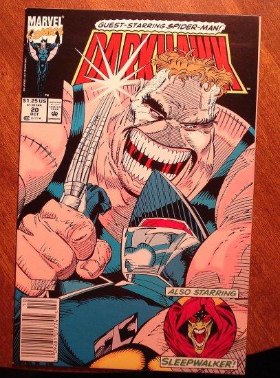 Darkhawk #20 comic book - Marvel Comics