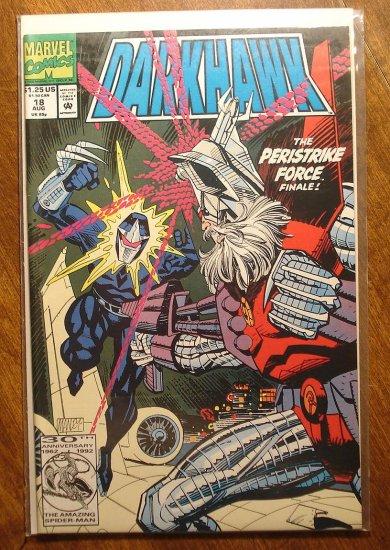 Darkhawk #18 comic book - Marvel Comics