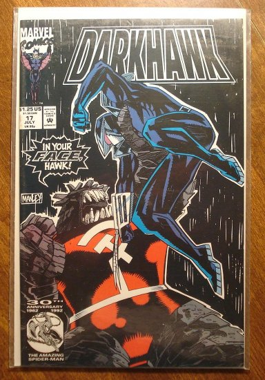 Darkhawk #17 comic book - Marvel Comics