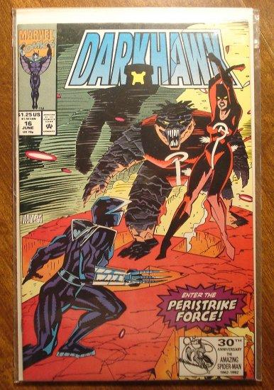 Darkhawk #16 comic book - Marvel Comics