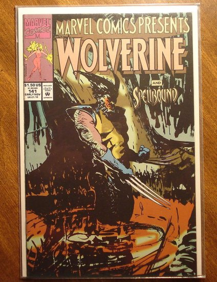 Marvel Comics Presents Wolverine & Ghost Rider #141 comic book NM/M