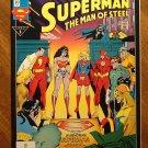 Superman: Man of Steel #20 comic book - DC Comics - Funeral For a Friend