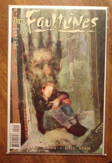 Faultlines #2 comic book - DC (Vertigo) Comics