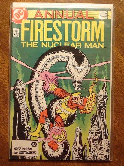 Firestorm The Nuclear Man Annual #4 comic book - DC Comics