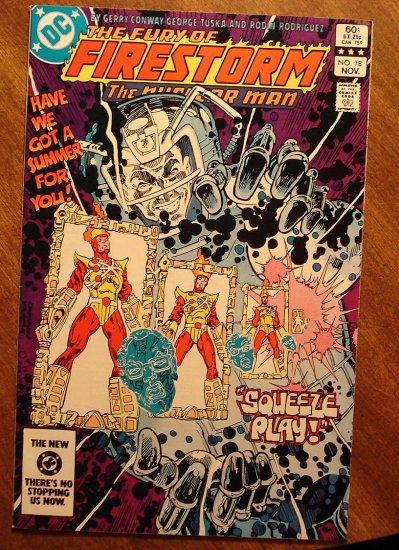 Firestorm The Nuclear Man #18 comic book - DC Comics