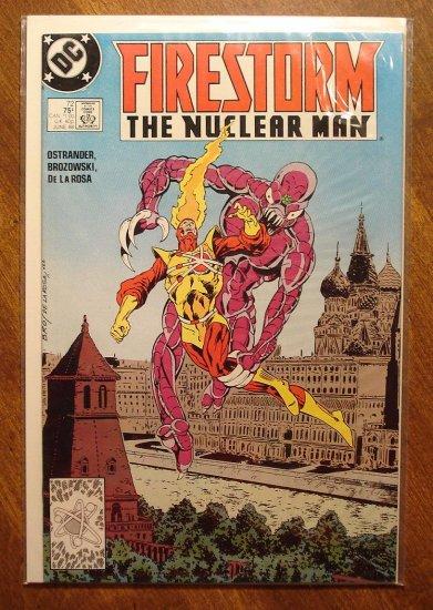 Firestorm The Nuclear Man #72 comic book - DC Comics