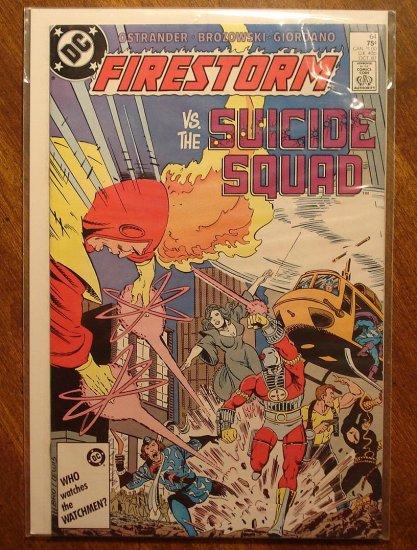 Firestorm The Nuclear Man #64 comic book - DC Comics