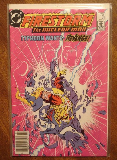 Firestorm The Nuclear Man #61 comic book - DC Comics