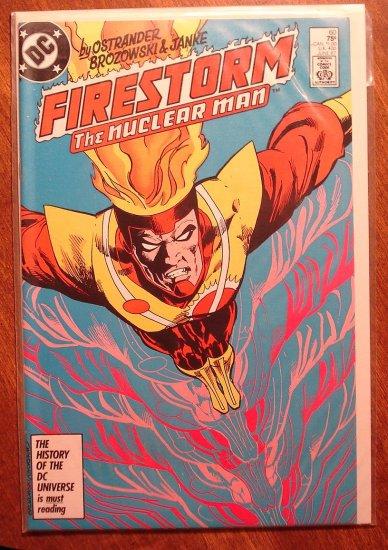 Firestorm The Nuclear Man #60 comic book - DC Comics