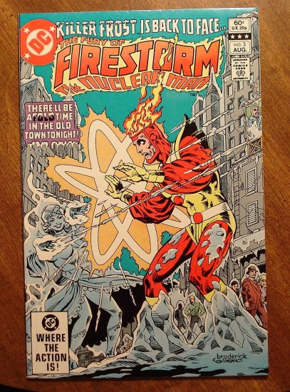 Firestorm The Nuclear Man #3 comic book - DC Comics