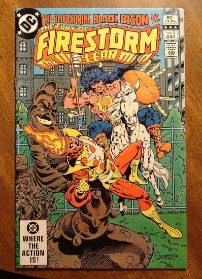 Firestorm The Nuclear Man #2 (1982) comic book - DC Comics