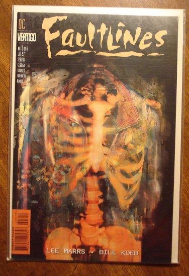 Faultlines #3 comic book - DC (Vertigo) Comics