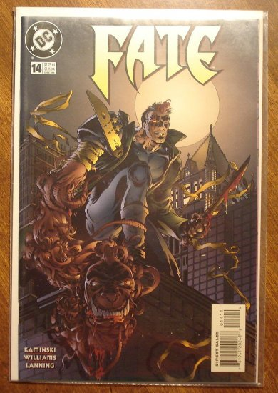 Fate #14 comic book - DC Comics (Dr. Fate)