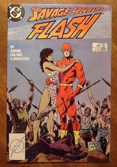 DC Comics - The Flash #10 comic book (1980's series)