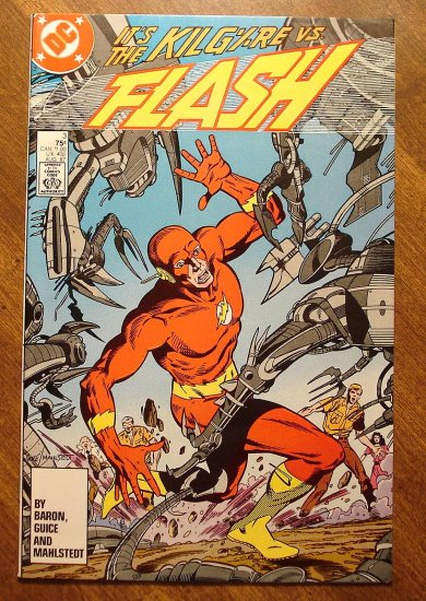 DC Comics - The Flash #3 comic book (1980's series) NM/M