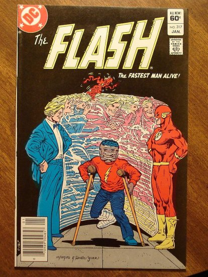 The Flash #317 comic book - DC Comics