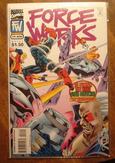 Force Works #14 comic book - Marvel Comics