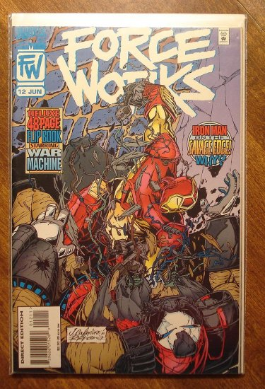 Force Works #12 comic book - Marvel Comics