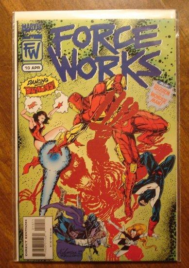 Force Works #10 comic book - Marvel Comics