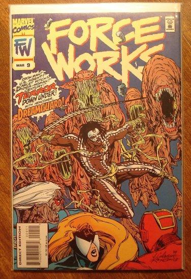 Force Works #9 comic book - Marvel Comics