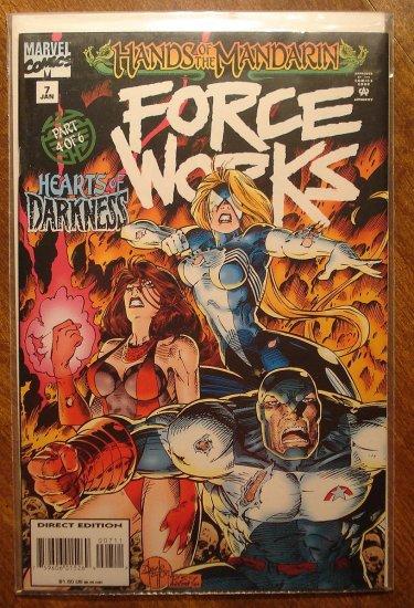 Force Works #7 comic book - Marvel Comics